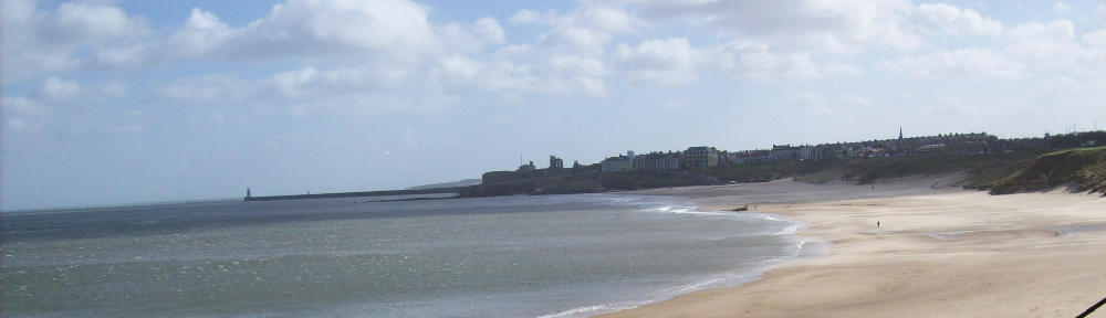 Looking south across Cullercoats Bay in Winter